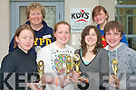 TOP BRAINS: The Kenmare youth club quiz team who came first in the U15's quiz at KDYS Killarney on Sunday l-r: Jennifer Egan, Rachel and Geraldine Topham (team leader), Molly Davis, Sarah Topham (team supporter) and Joseph O'Sullivan...