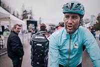 Hugo Houle (CAN/Astana)<br /> <br /> 76th Paris-Nice 2018<br /> Stage 7: Nice > Valdeblore La Colmiane (175km)