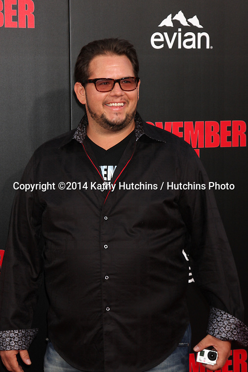 "LOS ANGELES - AUG 13:  Chad King at ""The November Man"" Premiere at TCL Chinese Theater on August 13, 2014 in Los Angeles, CA"