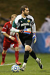 07 December 2012: Indiana's Luis Soffner. The Creighton University Bluejays played the Indiana University Hoosiers at Regions Park Stadium in Hoover, Alabama in a 2012 NCAA Division I Men's Soccer College Cup semifinal game. Indiana won the game 1-0.