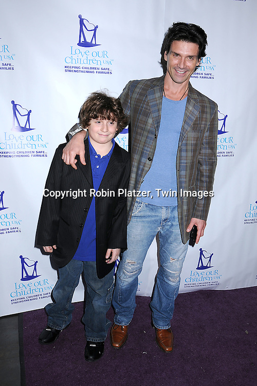 actor Frank Grillo and son Remy.at The Love Our Children USA National Love Our Children .Day on April 5, 2008 at Spotlight Live in New York City which was hosted by Cameron Mathison. ..Robin Platzer, Twin Images