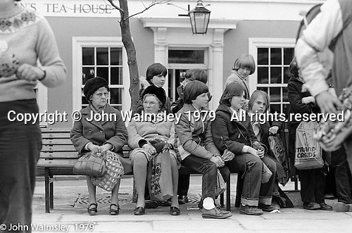 Watching The York Street Band playing in York, March 1979.  Sarha Moore and Ros Davies went on to play in The Bollywood Band, and Ros also joined the Grand Union Band, in London.  Anthea Gomez went on to write and play music for the theatre and then BBC Drama before changing direction.