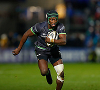 4th January 2020; RDS Arena, Dublin, Leinster, Ireland; Guinness Pro 14 Rugby, Leinster versus Connacht; Niyi Adeolokun of Connacht makes a break with the ball - Editorial Use