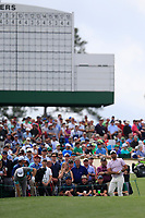 Jason Day (AUS) on the 3rd tee during the 2nd round at the The Masters , Augusta National, Augusta, Georgia, USA. 12/04/2019.<br /> Picture Fran Caffrey / Golffile.ie<br /> <br /> All photo usage must carry mandatory copyright credit (© Golffile | Fran Caffrey)