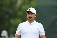 Jason Day (AUS) on the 1st tee to start Saturday's Round 3 of the 2017 PGA Championship held at Quail Hollow Golf Club, Charlotte, North Carolina, USA. 12th August 2017.<br /> Picture: Eoin Clarke | Golffile<br /> <br /> <br /> All photos usage must carry mandatory copyright credit (&copy; Golffile | Eoin Clarke)