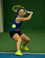 Almere, Netherlands, December 6, 2015, Winter Youth Circuit, Cato Tangkau (NED)<br /> Photo: Tennisimages/Henk Koster