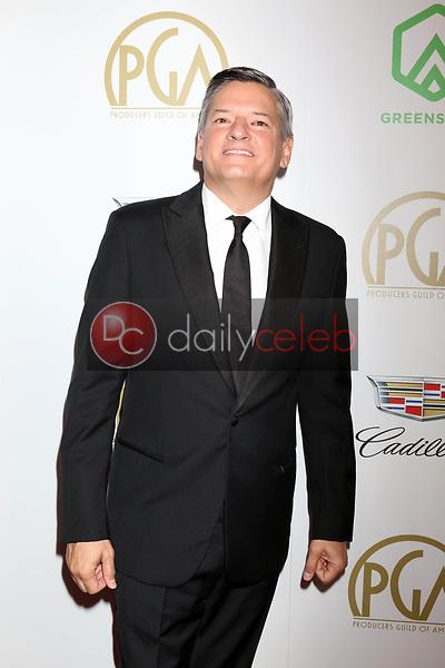Ted Sarandos<br /> at the 2019 Producer's Guild Awards, Beverly Hilton Hotel, Beverly Hills, CA 01-19-19<br /> David Edwards/DailyCeleb.com 818-249-4998