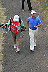 Graeme McDowell walks to the 15th on the final day of the Celtic Manor Wales Open 2010.Picture Fran Caffrey/Newsfile.ie