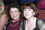 Dympna and Carol Carolan from Cherrybrook pictured in The Pheasant on New Year's Eve..Picture Paul Mohan Newsfile