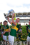 Johnny Buckley celebrates after defeating Donegal in the GAA All Ireland Senior Football Championship final.