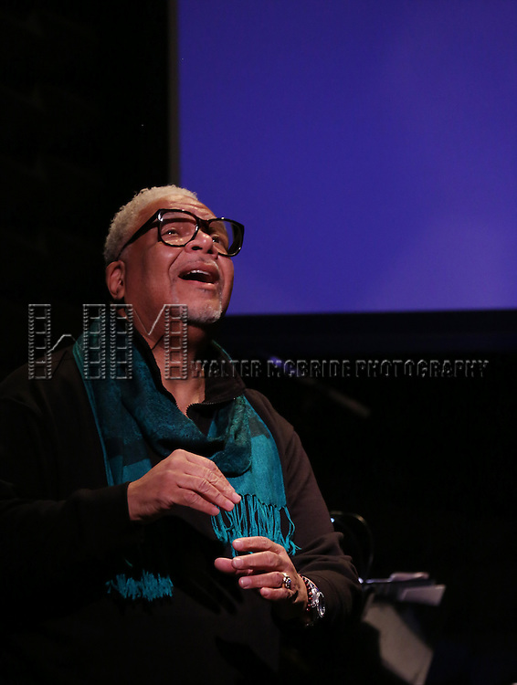Ken Page performing during rehearsals for the 'Broadwayworld.com visits OZ, our 10th Anniversary Concerts'  at Joe's Pub at The Public Theater on January 20, 2014 in New York City