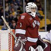 The Boston College Eagles defeated the Harvard University Crimson 3-1 in the first round of the 2007 Beanpot Tournament on Monday, February 5, 2007, at the TD Banknorth Garden in Boston, Massachusetts.  The first Beanpot Tournament was played in December 1952 with the scheduling moved to the first two Mondays of February in its sixth year.  The tournament is played between Boston College, Boston University, Harvard University and Northeastern University with the first round matchups alternating each year.