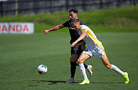 Action from the ISPS Handa Premiership football match between Team Wellington and Eastern Suburbs at David Farrington Park in Wellington, New Zealand on Sunday, 1 March 2020. Photo: Dave Lintott / lintottphoto.co.nz