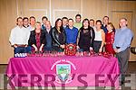 Dromid GAA Club committee at their social in the Sea Lodge in Waterville on Saturday night pictured l-r; Paddy O'Donoghue, John Ó Sé(PRO), Michéal Ó Suilleabháin(Vice Chairman), Eileen Ní Conchúir, Pól Mac Gearailt, Diarmuid Ó Sé, Deirdre Nic Gearailt(Rúnaí), Kevin Courtney, Donnacha Ó Suilleabháin(Chairman), Marc Fitzgerald, Suzanne Ní Laoghaire(Cisteoir), Michéal Ó Síocháin, Siobhain Ní Shé, Séan Ó Sé, Máire Uí Síocháin agus Michéal Ó Cúrraín.