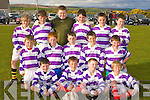 Dingle soccer team at the Community Games finals in Mastergeeha last Friday evening front row l-r: Niall Geaney, Richie Kearney, Dylan Thomas, Michael Hegarty. Middle row: Brian O'Connor, Michael Boyle, Conor Geaney, Toma?s Sheehy, Rory Browne. Back row: Rory McCarthy, Tom O'Sullivan, Donal Hannafin, Seamus Flaherty, Shane Kavanagh and Mark Ashe