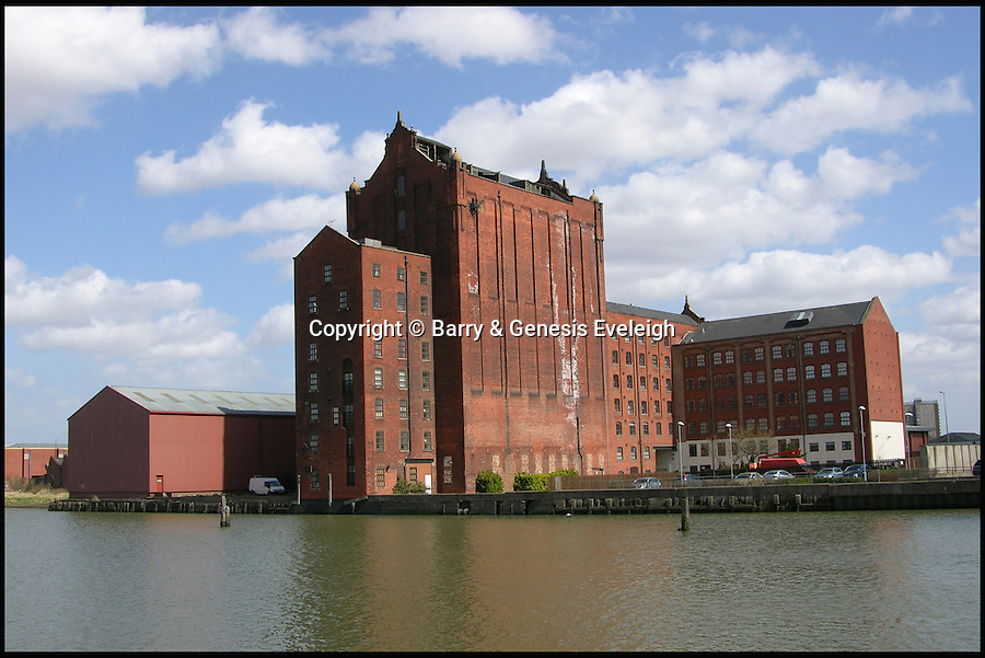 BNPS.co.uk (01202 558833)<br /> Pic: Barry&GenesisEveleigh/BNPS<br /> <br /> The enormous grain silo at Victoria Mills in Grimsby, Lincs is open to offers. <br /> <br /> Loving owners are being sought for hundreds of historic but crumbling buildings across Britain in a desperate bid to prevent them from being lost forever.<br /> <br /> A host of long-forgotten properties from all over the country feature in a newly-compiled 'lonely hearts' list of once-great places which have fallen into disrepair.<br /> <br /> The neglected buildings urgently in need of new owners include listed country piles, cottages and farmhouses, churches and chapels, pubs, shops, a former rifle range and even an WWII anti-aircraft supply depot.<br /> <br /> One hundred dilapidated and threatened buildings have been chronicled in a new book called Falling in Love published by campaign group Save Britain's Heritage in the hope of attracting buyers for them.