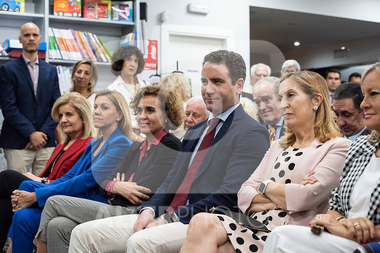 "Teodoro Garcvia Egea, Maria Dolores de Cospedal, Dolors Monserrat and Ana Pastor  in the presentation of the book ""Cada dia tiene su afan"" by former minister Jorge Fernandez Diaz with Mariano Rajoy<br /> October 10, 2019. <br /> (ALTERPHOTOS/David Jar)"
