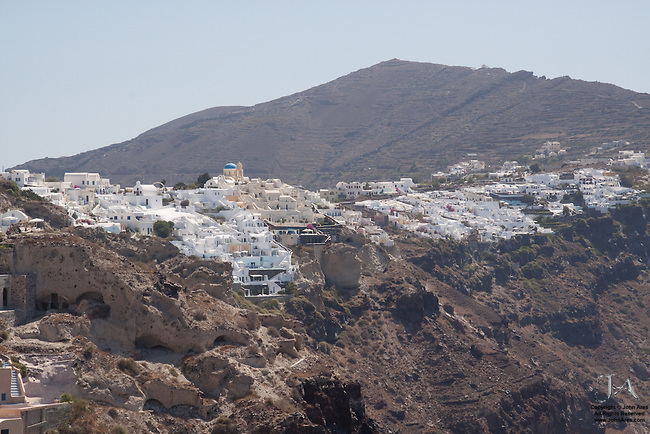 Cliffs of Oia Santorini