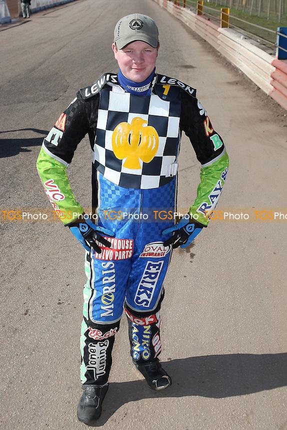 Barrie Evans of Hackney Hawks - Hackney Hawks Speedway Press & Practice Day at Arena Essex Raceway, Purfleet, Essex - 23/03/11 - MANDATORY CREDIT: Gavin Ellis/TGSPHOTO - Self billing applies where appropriate - Tel: 0845 094 6026