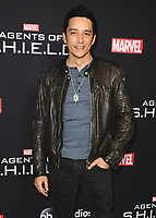 "HOLLYWOOD - FEBRUARY 24:  Gabriel Luna at 100th Episode Celebration of ABC's ""Marvel's Agents of S.H.I.E.L.D.""  at OHM Nightclub on February 24, 2018 in Hollywood, California.(Photo by Scott Kirkland/PictureGroup)"
