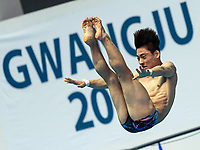 KIM Yeongtaek KOR KOREA<br /> Gwangju South Korea 17/07/2019<br /> Diving Men's 3m Springboard Preliminary <br /> 18th FINA World Aquatics Championships<br /> Nambu University Aquatics Center <br /> Photo © Andrea Staccioli / Deepbluemedia / Insidefoto