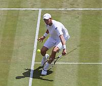 BLAZ ROLA (SLO)<br /> <br /> The Championships Wimbledon 2014 - The All England Lawn Tennis Club -  London - UK -  ATP - ITF - WTA-2014  - Grand Slam - Great Britain -  25th June 2014. <br /> <br /> © Tennis Photo Network