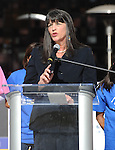 LOS ANGELES, CA. - November 30: BGCA President Roxanne Spillett attend the Boys And Girls Clubs of America Announcement at Nokia Theatre L.A. Live on November 30, 2010 in Los Angeles, California.