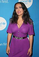 14 April 2018 - Beverly Hills, California - Salma Hayek Pinault, Salma Hayek. Seventh Biennial UNICEF Ball Los Angeles held at The Beverly Wilshire Hotel. <br /> CAP/ADM/FS<br /> &copy;FS/ADM/Capital Pictures