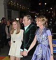 """© Under licence London News Pictures. 01/03/2011. Lord Lloyd-Webber and family arrive for the Opening Night of """"The Wizard of Oz"""" at the London Palladium. Picture credit should read: Jane Hobson/London News Pictures"""