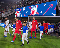 WASHINGTON, DC - OCTOBER 11: Jordan Morris #11 of the United States walks onto the field during a game between Cuba and USMNT at Audi Field on October 11, 2019 in Washington, DC.