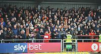 Blackpool fans enjoy the pre-match atmosphere <br /> <br /> Photographer Kevin Barnes/CameraSport<br /> <br /> The EFL Sky Bet League One - Fleetwood Town v Blackpool - Saturday 7th March 2020 - Highbury Stadium - Fleetwood<br /> <br /> World Copyright © 2020 CameraSport. All rights reserved. 43 Linden Ave. Countesthorpe. Leicester. England. LE8 5PG - Tel: +44 (0) 116 277 4147 - admin@camerasport.com - www.camerasport.com
