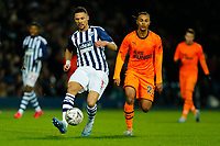 3rd March 2020; The Hawthorns, West Bromwich, West Midlands, England; English FA Cup Football, West Bromwich Albion versus Newcastle United; Kieran Gibbs of West Bromwich Albion on the ball