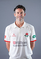 Picture By Allan McKenzie/SWpix.com - 11/04/18 - Cricket - Lancashire County Cricket Club Photo Call Media Day 2018 - Emirates Old Trafford, Manchester, England - Graham Onions.