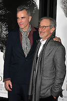 HOLLYWOOD, CA - NOVEMBER 08: Daniel Day-Lewis and Steven Spielberg at the 'Lincoln' premiere during the 2012 AFI FEST at Grauman's Chinese Theatre on November 8, 2012 in Hollywood, California. Credit: mpi21/MediaPunch Inc. /NortePhoto