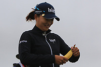 Jin Young Ko (KOR) on the 5th tee during Round 2 of the Ricoh Women's British Open at Royal Lytham &amp; St. Annes on Friday 3rd August 2018.<br /> Picture:  Thos Caffrey / Golffile<br /> <br /> All photo usage must carry mandatory copyright credit (&copy; Golffile | Thos Caffrey)