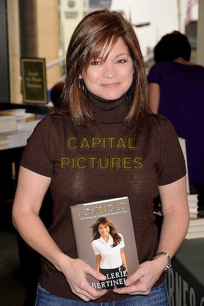 "VALERIE BERTINELLI.Book Signing for ""Losing It"" at Barnes & Noble located at The Grove, Los Angeles, California, USA, .1 March 2008. .half length author L.A. book.CAP/ADM/BP.?Byron Purvis/Admedia/Capital PIctures"