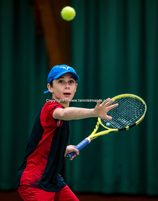 Wateringen, The Netherlands, November 27 2019, De Rhijenhof , NOJK 12 and16 years, Mees Rötgering (NED)<br /> Photo: www.tennisimages.com/Henk Koster