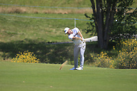 Zander Lombard (RSA) on the 1st fairway during Round 1 of the HNA Open De France at Le Golf National in Saint-Quentin-En-Yvelines, Paris, France on Thursday 28th June 2018.<br /> Picture:  Thos Caffrey | Golffile