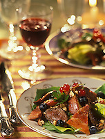 Gastronomie générale/Repas de Réveillon: Filet de chevreuil aux champignons