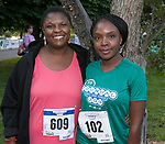 Manasseh and Deborah Chibue during the 51st Annual Journal Jog in  Reno on Sunday, Sept. 8, 2019.