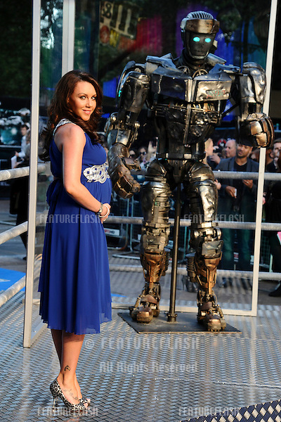 "Michelle Heaton arrives for the ""Real Steel"" premiere at the Empire Leicester Square, London. 14/09/2011  Picture by: Steve Vas / Featureflash"