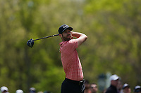 Kevin Tway (USA) on the 12th tee during the 3rd round at the PGA Championship 2019, Beth Page Black, New York, USA. 18/05/2019.<br /> Picture Fran Caffrey / Golffile.ie<br /> <br /> All photo usage must carry mandatory copyright credit (© Golffile | Fran Caffrey)