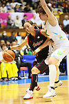 (L-R) Ryoko Yano (Antelopes), Ramu Tokashiki (Sunflowers), MARCH 19, 2013 - Basketball : The 14th Women's Japan Basketball League Playoffs Final Game #4 between Toyota Antelopes 61-72 JX Sunflowers at 2nd Yoyogi Gymnasium, Tokyo, Japan. (Photo by AFLO SPORT) [1156]