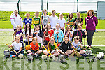 Pupils from Third, Fourth, Fifth and Sixth classes of Glenderry National School at the 'bring Camogie back'  an initiative by the Munster Council to get schools in Kerry to play Camogie, the event was held at the IT North Campus on Friday