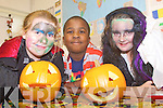 PUMPKIN HARVEST: Having a great time at the International Resource Centre, St Patrick's Bungalows, Tralee on Friday l-r: Marie O'Brien, David Oba and Teresa O Neill.