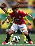 Chika Kato (Reds Ladies), APRIL 4, 2015 - Football /Soccer : Plenus Nadeshiko League 2015 between Urawa Reds Ladies 0-1 JEF United Ichihara Chiba Ladies at Fukuda Denshi Arena, Chiba, Japan. (Photo by Sho Tamura/AFLO SPORT) [1180]