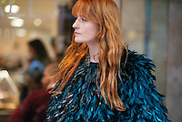 Florence Welch at London Fashion Week (Photo by Hunter Abrams/Guest of a Guest)