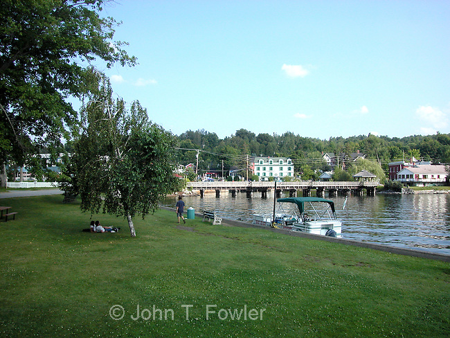 North Hatley, Eastern Townships, Quebec, Canada, summer
