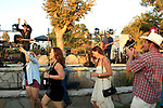 LOS ANGELES - AUG 27: Ken Smith, family at the Clay Walker Country at the Downs concert  at Galway Downs on August 27, 2017 in Temecula, California