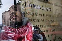 Milano: Pierluigi Bersani inaugura una nuova sede del partito Democratico